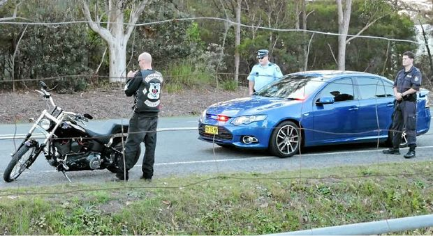 OPERATION: A police operation targets a bikie gang function on the Coffs Coast.