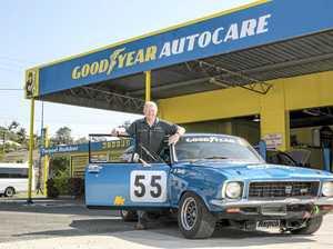 Bilambil man Noel Davis is set to race in the Australian Muscle Car Masters Father's Day race at Eastern Creek Raceway.