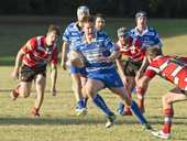 USQ flanker Brendon Ralph has come a long way since making his Downs Rugby debut last season and tomorrow he gets a new taste of Risdon Cup football.
