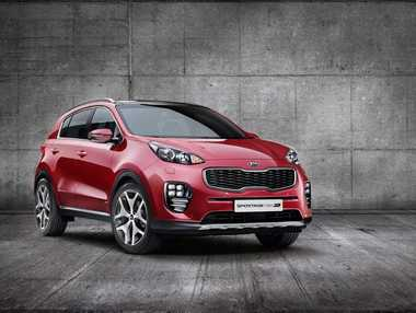 AERO INSPIRED? Kia says the sharp shapes found on its new Sportage SUV are inspired by iconic modern fighter jets.