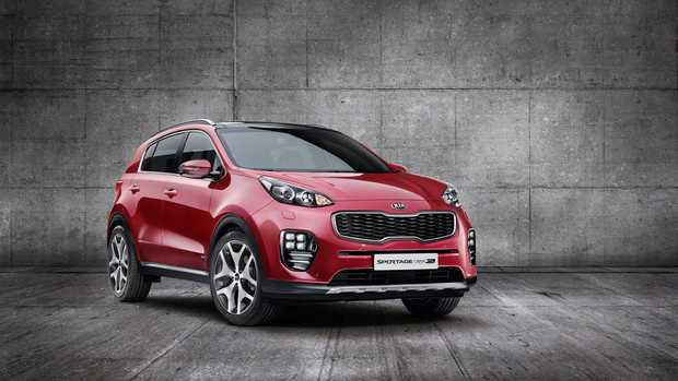 Images of fourth-gen Sportage show a sportier style in line with Kia's latest new cars