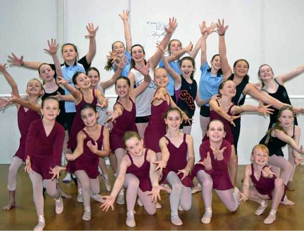 DANCING TO DISNEY: 32 Julie Ross Dance Studio students will represent Coffs at the Dance Around the World event.