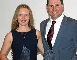 Carly Leeson wins top cricket gong second year in a row