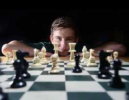 Kadina High playing pawn for student chess tournament