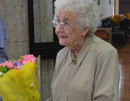 Happy Birthday Ethel! Special resident reaches 100 today