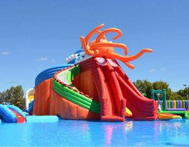 Slide in to Spring school holidays with Water Wonderland