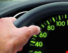 Driver caught doing twice speed limit one of many