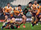 COACH Wayne Bennett's message to his young players was received loud and clear as they starred in Brisbane's biggest win of the season over South Sydney.