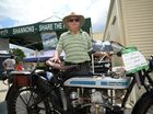 Enthusiasts get their motors running at old bike show