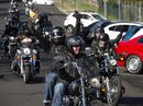 The Rotary Club of Toowoomba City and Darling Downs Harley Owners Group annual Cruise for Cancer has 140 motorbikes on the run in its 14th year.