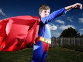 THE Greaves' boys leapt at the opportunity to don their special outfits for National Superhero Week in support of muscular dystrophy sufferers.