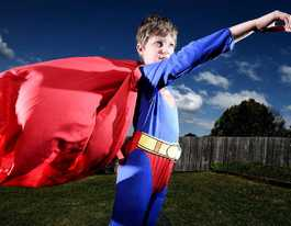 Superhero Riley's saved one life, now he will save more