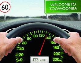 Driver caught going 133kmh in Toowoomba 60kmh zone