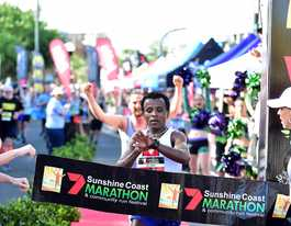 Record falls at fourth annual Sunshine Coast Marathon