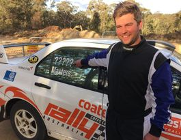 Rookie rally driver making concrete plans for Coffs visit