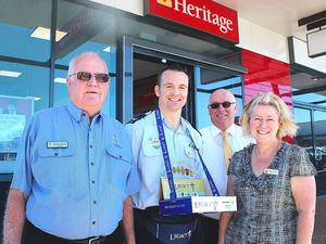 Heritage donates $1000 to launch Legacy Week appeal
