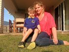 WHEN five-year-old Patrick Heinemann put on his new school shoes, the last thing he expected was to be pricked by a sewing needle.