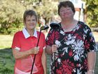 OPEN DAY: Warwick Golf Club women's president Jan Maher and captain Annice Payne are ready for today's open day.