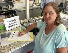 Fight begins for Torbanlea post office