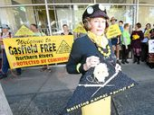 """WHAT began as a call for the government to """"spring into action"""" over CSG quickly became a call to cancel the region's licences after a Metgasco announcement."""