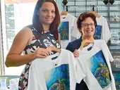 FROM the Southern Great Barrier Reef, to industry and community, artist Ping Carlyon has depicted Gladstone's greatest assets in a new souvenir collection.