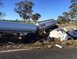 Darling Downs man killed in horror truck crash