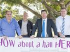 TIME is running out to support a local MP's fight for a new school hall in Wilsonton.