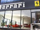 The new Ferrari Brisbane dealership at Fortitude Valley on the day of its grand opening.