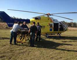 Woman airlifted after fall from horse west of Kingaroy