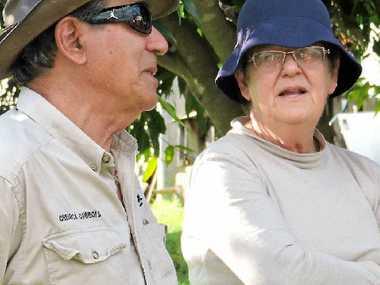 SURVIVORS: Long-time small crop growers Bruno and Trish Gabbana, of Kandanga.