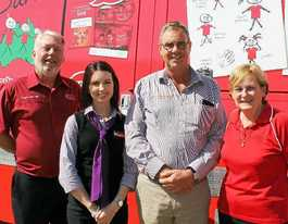 Southern Downs Realty goes red on Day for Daniel