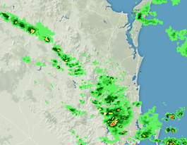 Rain on the way for parts of SEQ with thunderstorms building