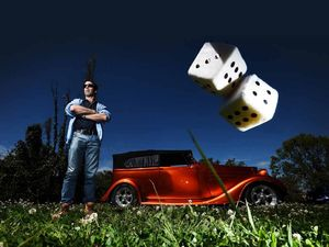 REVVED UP: Lismore Trojans Rod and Custom Car Club vice president Brad Muldoon is looking forward to the club's fourth annual Father's Day show at Lismore Showgrounds in aid of Our Kids (and car-loving dads, of course).