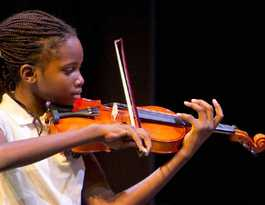Tannum string talent shines as time to hop on stage