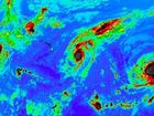 Three major hurricanes pictured over Pacific a first