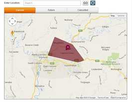 823 customers without power in Goonellabah and Lismore area