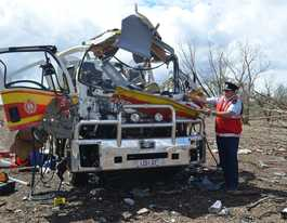 When a massive truck explosion shook western Qld