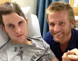 Man's desperate bid to save his brother's life