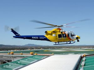 The RACQ Capricorn Helicopter Rescue Service are en route to the property to transport the man, who is experiencing back and chest pain.