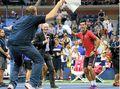Groth's slam run ended by veteran in New York