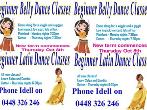 Beginner Latin Dance Classes at Dance Force Studio in Gatton