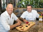 WILD foods of the Northern Rivers region will be celebrated on Sunday when two celebrity chefs get together to deliver a five-course lunch.