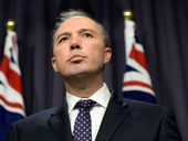 IMMIGRATION Minister Peter Dutton has apologised for joking about the plight of Pacific Island countries facing rising sea levels.