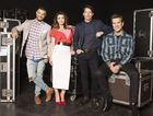 The X Factor Australia judges for 2015, from left, Guy Sebastian, Dannii Minogue, James Blunt and Chris Isaak.
