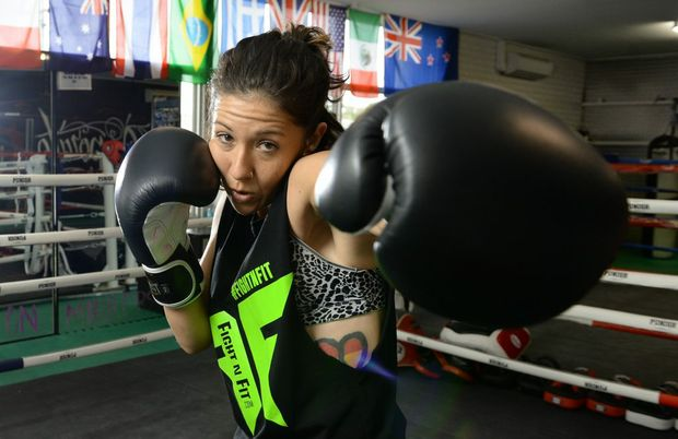 Cashman finds strength to inspire through boxing