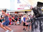 EVERYBODY's favourite monster – Gargoyle – is set to make a big impact on the International Buskers and Comedy Festival again this year.