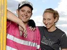 RENO STAR: Mackay-born Kingi appears on The Block alongside his wife Caro.