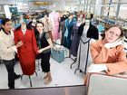 FASHION students at Wollongbar TAFE will play a lead role in creating some of the classic 1940s costumes used for Norpa's production Railway Wonderland.