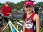When Finn Barlow won her second ever triathlon race she didn't realise she was competing for the state championship.