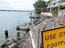 NOOSA'S failed river footpath has become a ratepayers' financial sink hole as councillors look set to allocate a further $159,000 towards fixing the walkway.